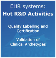 EuroRec: hot R&D activities